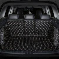 Специальный коврик для багажника для Land Rover Range Rover Sport прочный водостойкий кожаный багажный коврик для Range Rover Sport