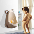 Cute Urinals For Kids PP Frog Children Stand Vertical Urinal Wall-Mounted Urine Groove Green Baby Boy Urinals
