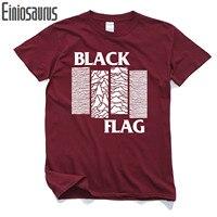 أسود القط العلم الرجال القميص القطن الخالص قمصان عادية سليم ل علم الرجال الذكور فاسق أسود فرقة الهيب t قمصان الرجال قمم المحملات