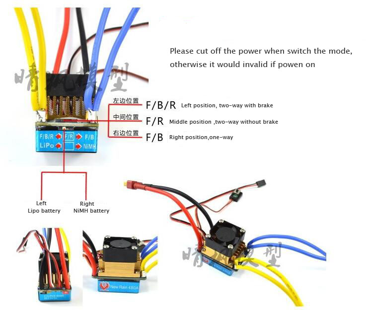 Rc18t Esc Wiring Diagram | Wiring Diagram on
