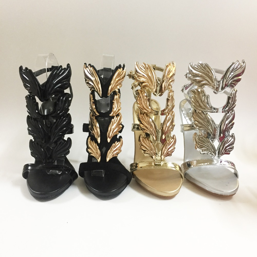 2018 all colors Hot sell women high heel sandals gold leaf flame gladiator sandal shoes party dress shoe woman patent leather hot sell women high heel sandals gold gladiator sandal shoes party dress shoe woman patent leather high heels 5186 11a