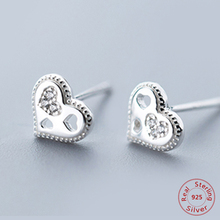 7dd620bfa0 Buy pave heart earrings and get free shipping on AliExpress.com
