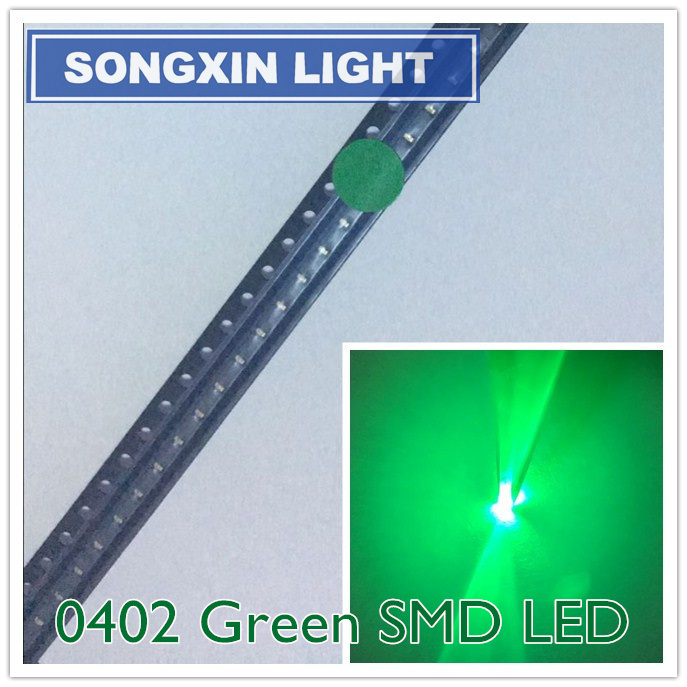 50PCS Light Emitting Diode LED Lamp 5MM grüne Green