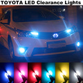 4X Error Free T10 LED For T.O.Y.O.T.A  corolla avensis yaris rav4 hilux auriscamry prius prado accessories Clearance Lights Bulb