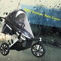 Calidad Universal Buggy Cochecito Cochecito Cochecito Cubierta Para La Lluvia Bebé Transparente