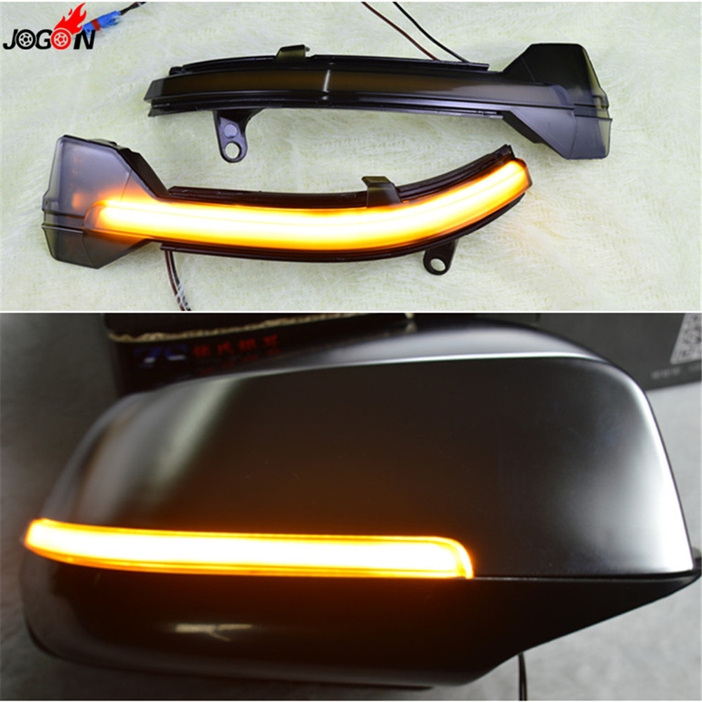 LED Rearview Mirror Indicator Blinker Repeater Light Dynamic Turn Signal For BMW 5 6 7 Series F10 F11 F07 F06 F12 F13 F01 F02 цена