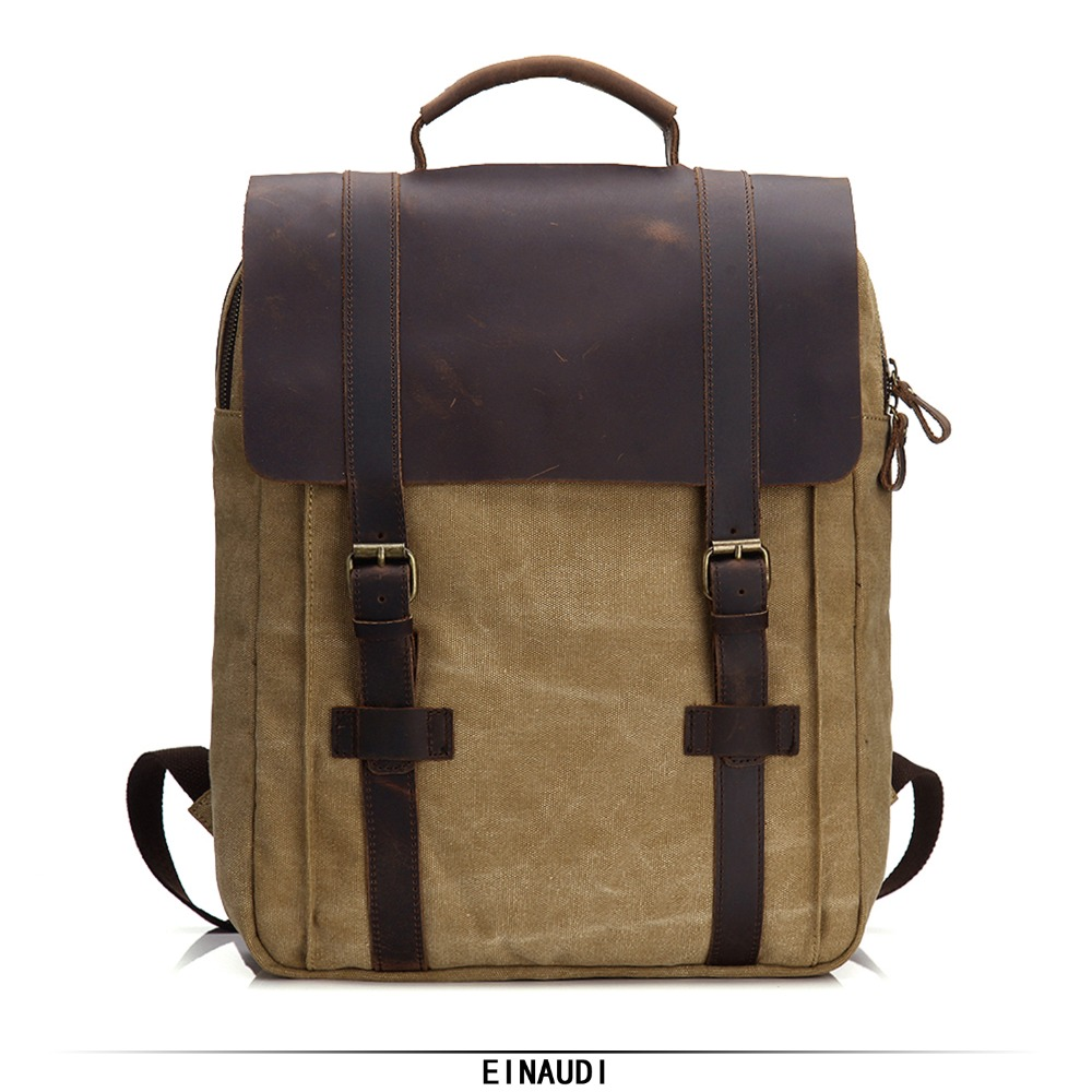 2018 Brand Fashion Backpack Unisex Vintage Canvas Travel Bag Large Capacity Travel Laptop Backpack School Bags New Computer Pack 2016 new arrival brand unisex vintage preppy style canvas bags women backpack men school bag travel bags free shipping
