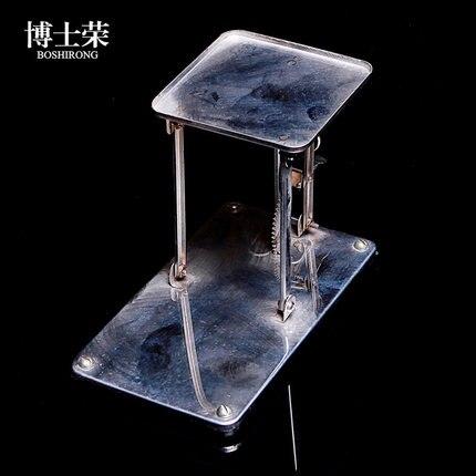 mini Lifting platform Stainless steel Manual control Laboratory multimedia universal teaching instrument