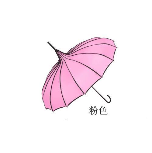 20 pcs เจดีย์ร่ม Parasol ป้องกันทั้ง Rain และ Sun-ใน ร่ม จาก บ้านและสวน บน   2