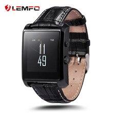 Original lf06 lemfo bluetooth smart watch muñeca smartwatch de lujo hombres reloj dispositivo portátil para apple ios android teléfono