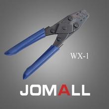 Купить с кэшбэком WX-1 crimping tool crimping plier 2 multi tool tools hands Solar Photoroltaic Connector MC3/MC4 Crimping Tool