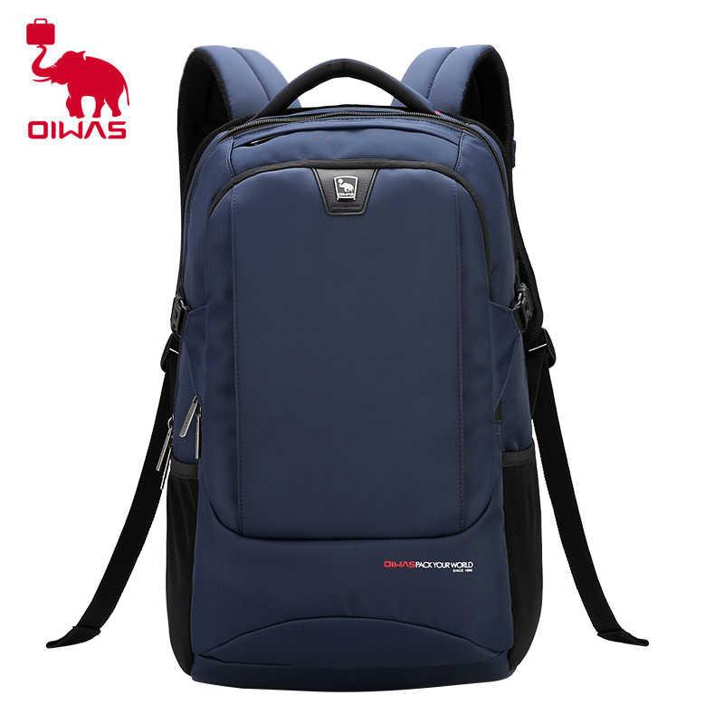 954353f1abfe ... Oiwas бизнес сумка для ноутбука рюкзак Универсальный позвоночника Уход  водостойкий большой емкости портативный сумка для путешествий ...