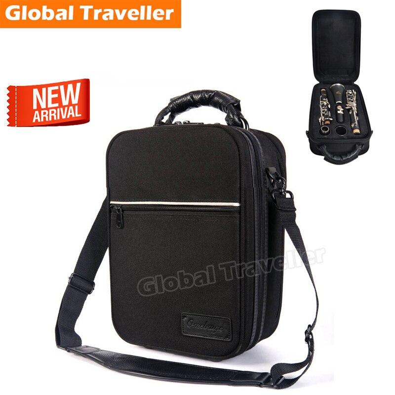 Soft & Lightweight Waterproof & Anti Pressure Standard Bb Clarinet Case Clarinet Shoulderbag Clarinet Backpack stone n mr clarinet