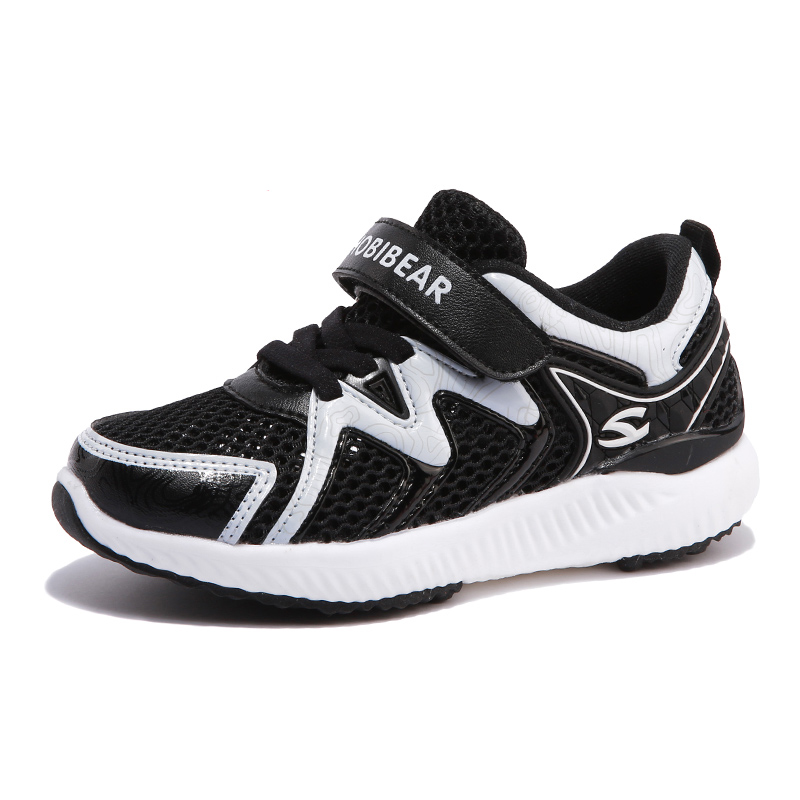 Blue Summer Sneaker For Children Boys Casual Shoes Black Soft And Comfortable Air Mesh Footwear For Teenager Fashion School Shoe
