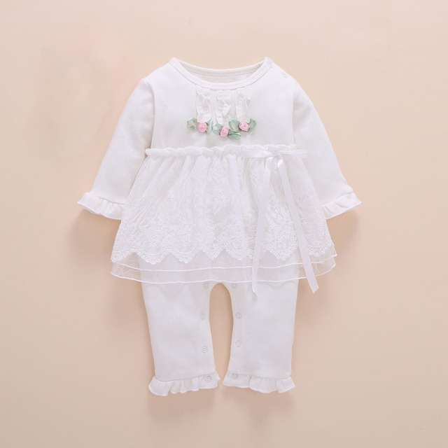 newborn baby girl clothes infant set twins one years robe winter 2017 baby rompers long sleeve cotton roupas infantis menina