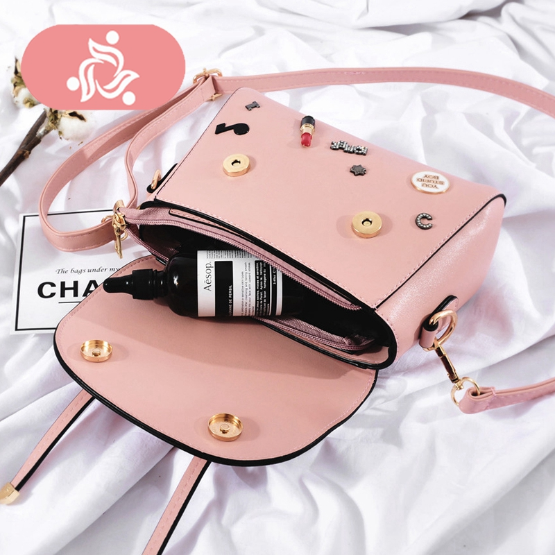 Cute Casual Luxury Famous Designer Bag Women Leather Crossbody Bag Shoulder  Bag Messenger Clutch Handbag Purses-in Shoulder Bags from Luggage   Bags on  ... 1a6d1744f5