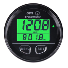 Boat Car 61mm Digital GPS Speedometer Odometer Green Backlight mph 12V/24V With Backlight Yacht Vessel Motorcycle blue backlight 52mm gps speedometer gauge odometer battery meter digital dash 12v 24v mph kmh for car truck boat motorcycle