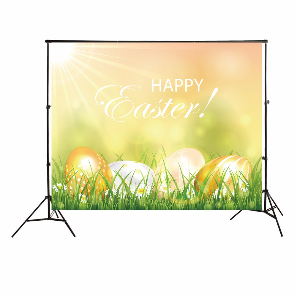 Background image 9971 - Happy Easter Photographic Backgrounds Kids Photo Backdrops Toile De Fond Backdrops Easter Basket Backgrounds For Photo