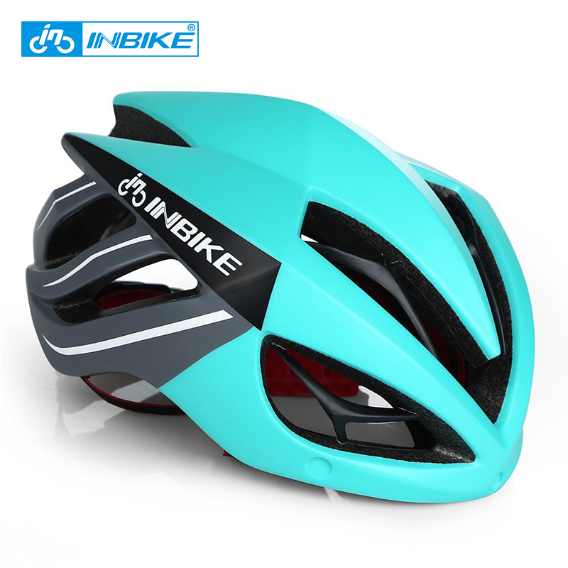 INBIKE Cycling Helmet Bicycle Helmet Magnetic Goggles Mountain Road Bike Helmet