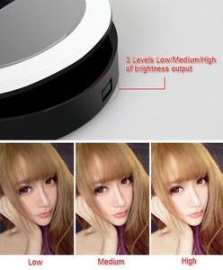 Image 4 - 36 LED Portable Selfie Lgiht Led Camera Clip on Mobile phone Selfie ring light video light Night Enhancing Fill Light