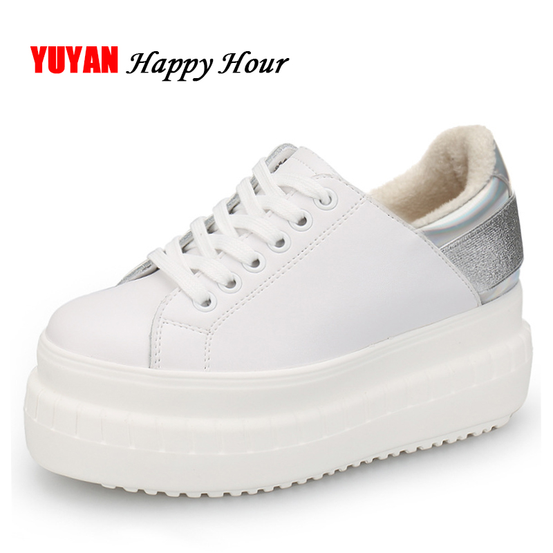 New Autumn Winter Shoes Women Sneakers Genuine Leather Flat Platform Plush for Winter Womens Brand White Shoes ZH2442New Autumn Winter Shoes Women Sneakers Genuine Leather Flat Platform Plush for Winter Womens Brand White Shoes ZH2442