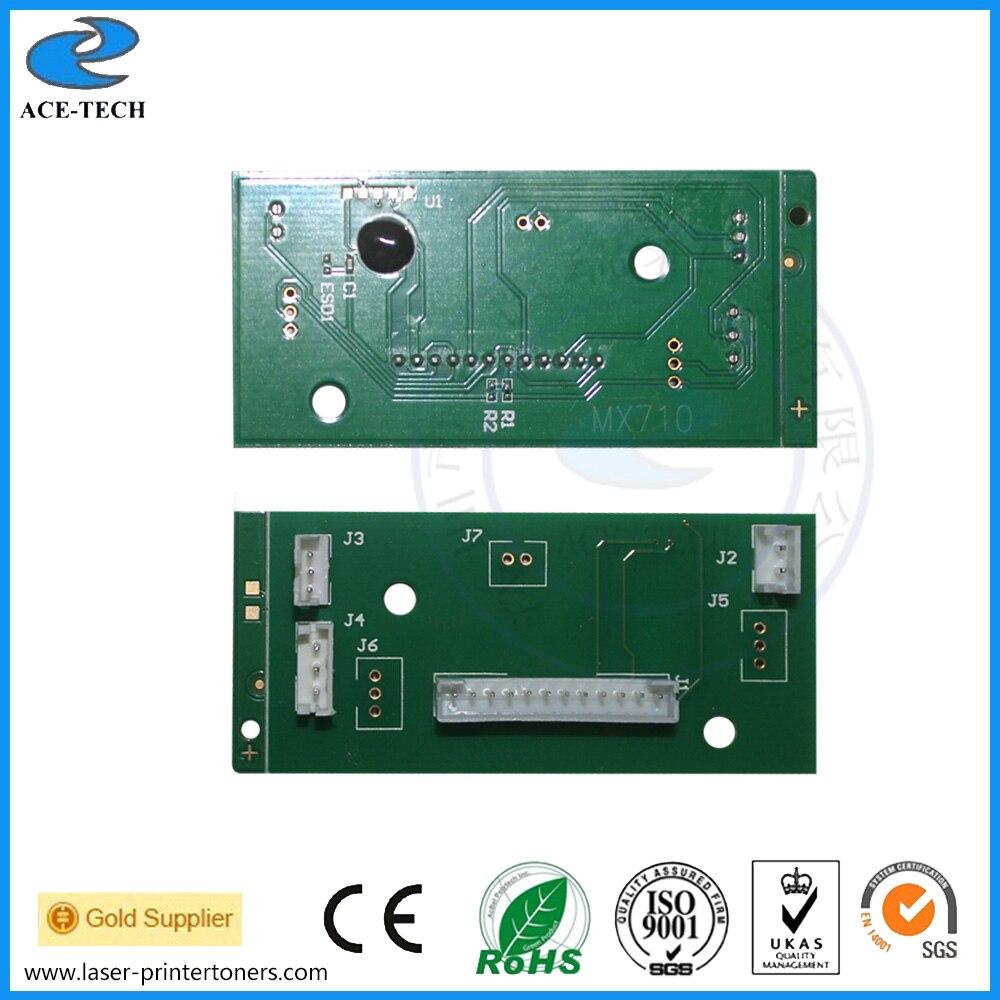 40G4135 Developer unit chip for Lexmark MS710 MX710 MS810 MX810 MS812 MX812 MS811 MX811 MX711 MS711 laser printer cartridge