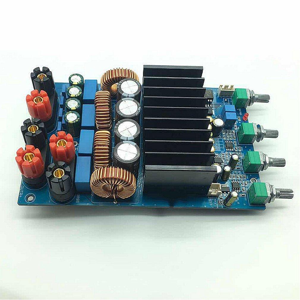 TAS5630 2.1 classe D 300W + 150W + 150W tonalité ajuster amplificateur terminé carte assembler carte module raffiné - 6