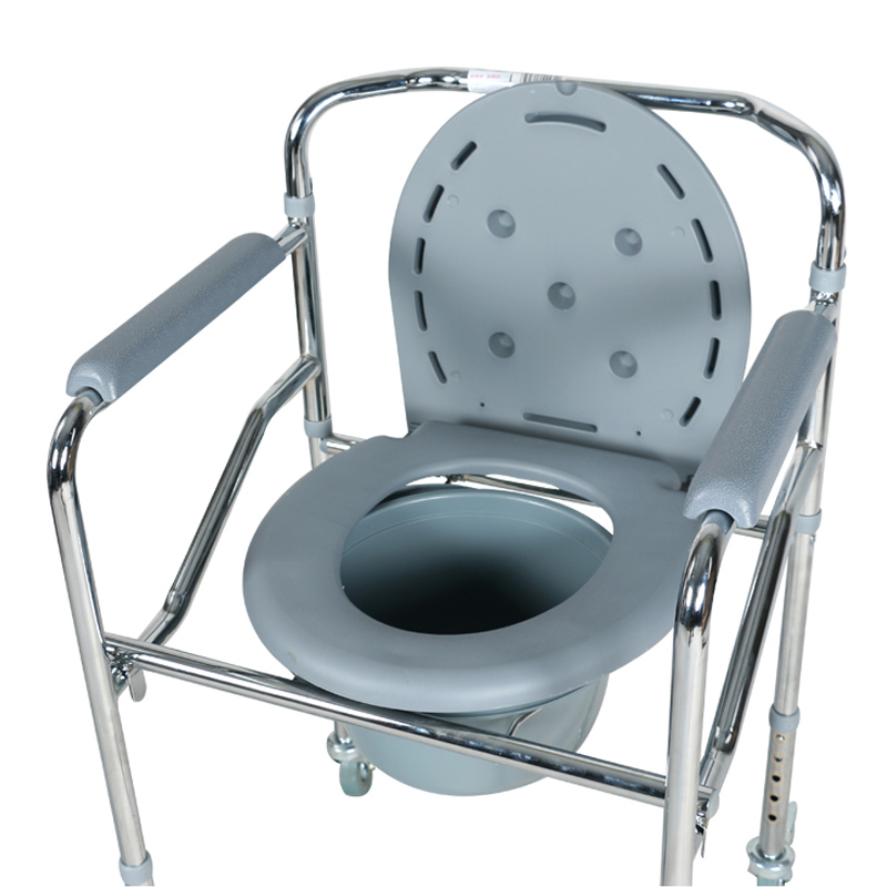 High Quality New Design Steel Adjustable Commode Chair Folding Bath ...