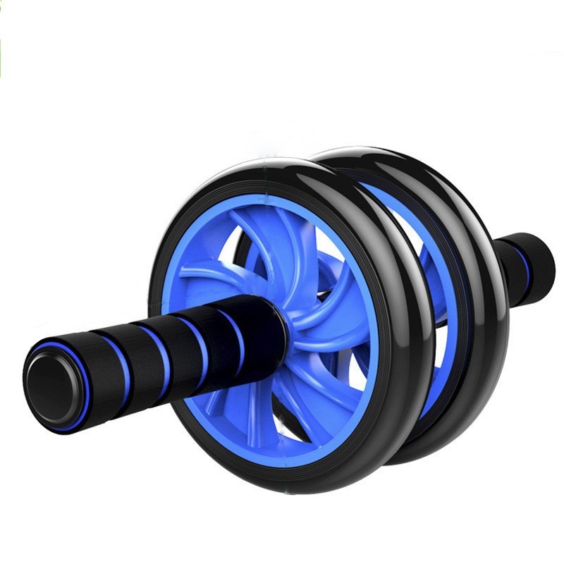 New No Noise Abdominal Wheel Ab Roller With Mat For Exercise Fitness Gym Equipment Accessory fitness equipment Muscle Trainer