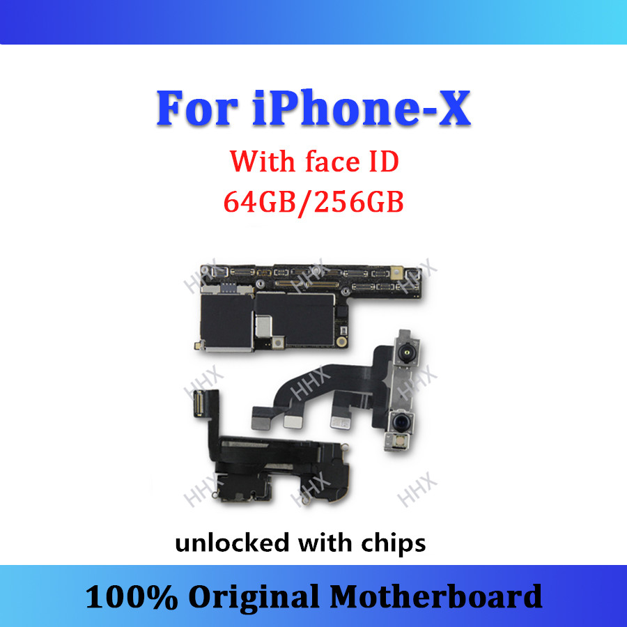 Original Logic Board For Iphone X Motherboard With Face Id Unlocked Ipad Mini Touch Screen Digitizer Ic Chip Control Circuit Chips Whole Tested Mainboard 64gb 256gb Good Working In Mobile Phone Antenna From