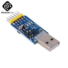 USB CP2102 à TTL | Puce série RS232 USB TTL To RS485, conversion mutuelle, Module de microcontrôleur 6 en 1, alimenté par le système