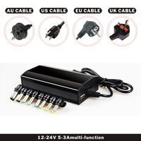 FDBRO 2019 New Hot Laptop/Notebook with USB Power Supply Multifunctional Laptop AC DC Power Adapter Car Charger Free Shipping