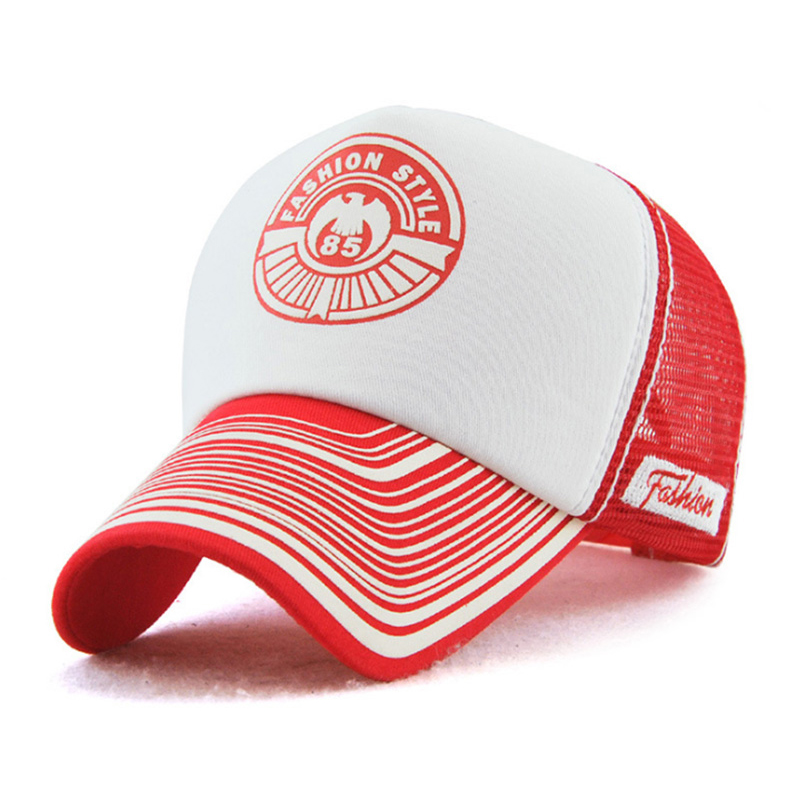 72042d5a0f8 AETRENDS  Men Cap Summer Breathable Mesh Cap White Baseball Caps 5 ...