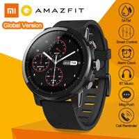 Международный Английский Версия Xiaomi Huami AMAZFIT Stratos 2 gps смарт спортивные часы 5ATM Водонепроницаемый плавание открытый Smartwatch