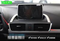 Auto air vent intake trim sticker voor Mazda 3 2014 2015, Type B