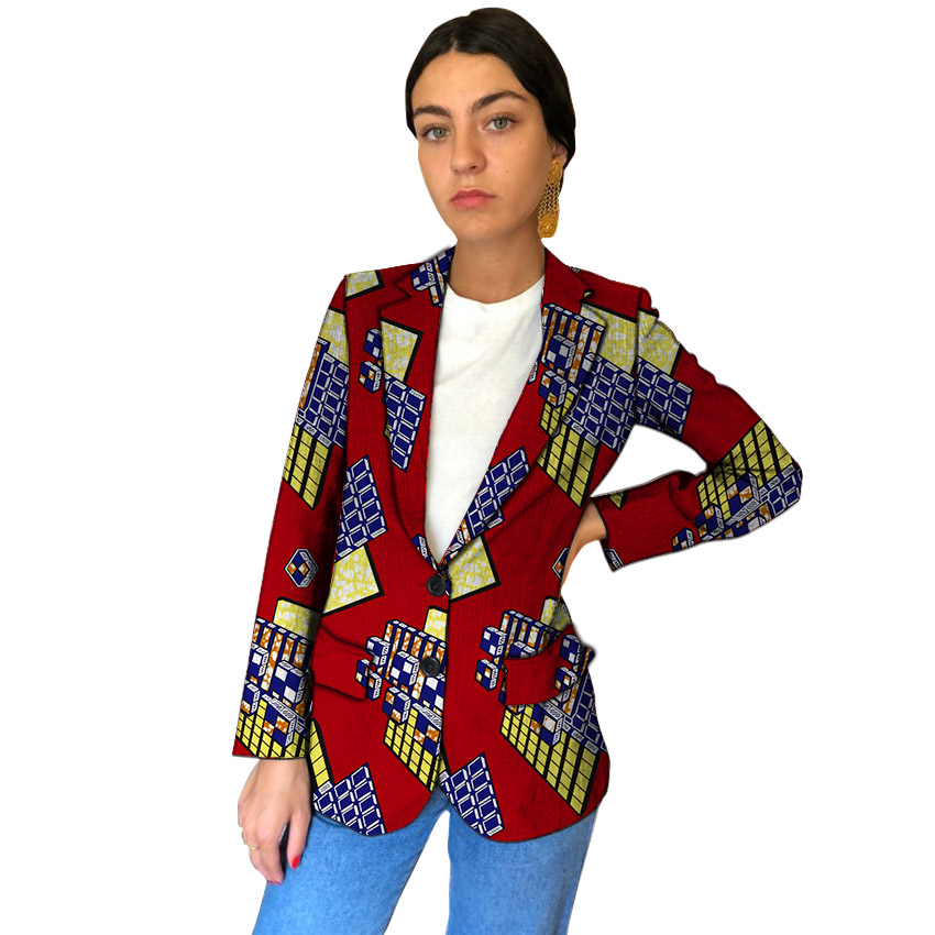 2 Vestes Le Mesure Pour Manteau 1 Imprimer 5 3 Blazer Sur Costume Fait De Vêtements Femmes Taille Ankara African Blazers Des Grande Mode 6 4 Mariage Zxvqw1