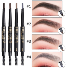 BONNIE CHOICE 1 Pc Eyebrow Pencil with Brush Long Lasting Waterproof Automatic Beauty Cosmetic Eyebrow Makeup Makeup Art Tools