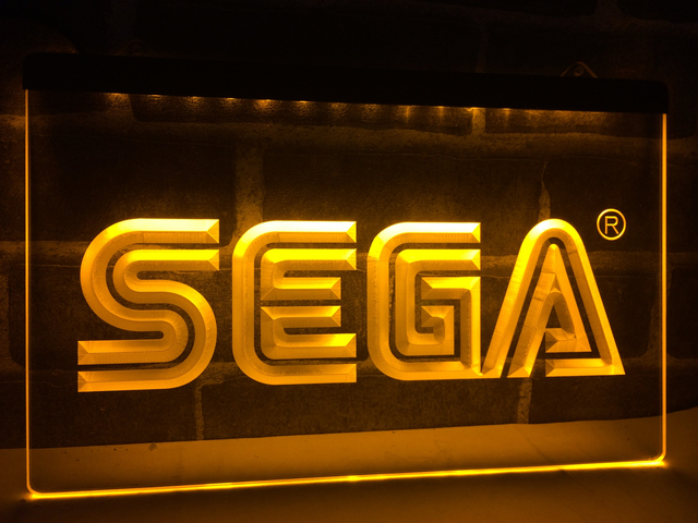 Lh054 Sega Led Neon Light Sign Home Decor Crafts