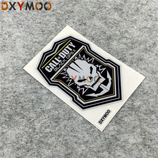 Car Styling Reflective Motorcycle Helmet Bike Sticker Decals Vinyl Tape For SKULL KNIGHT CALL OF