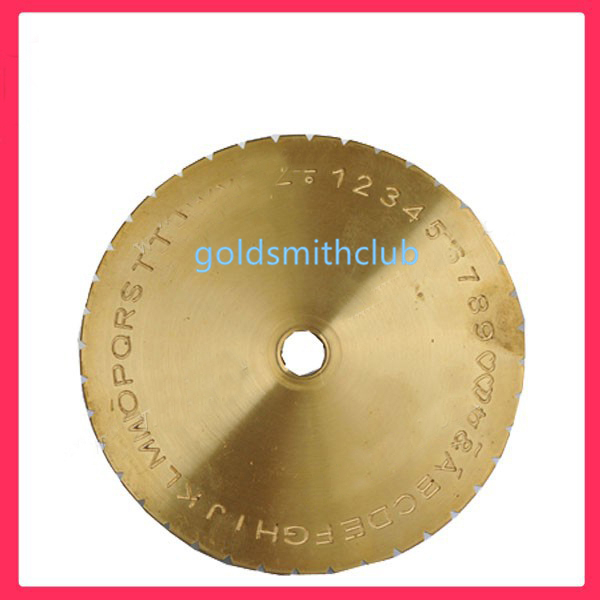 FREE SHIPPING Engraver Fonts disc for Inside Ring Engraving Machine, dial engraver ring making tools letters disc free shipping inside ring engraving machine engraving machine jewelry tools