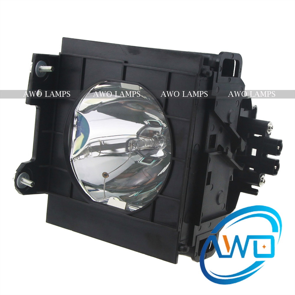 AWO Compatible Projector Lamp ET-LAD35L with Housing for PANASONIC PT-D3500/PT-D3500U et lae900 high quality replacement bulb with housing compatible for panasonic pt ae900 pt ae900u pt ae900e with 180days warranty