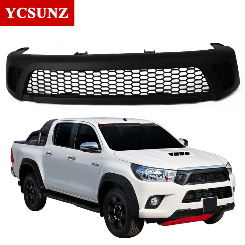 2016-2017 front raptor grille For Toyota Hilux 2016 Revo front Racing Grills Accessories For toyota Hilux 2017 2018 Parts Ycsunz ...