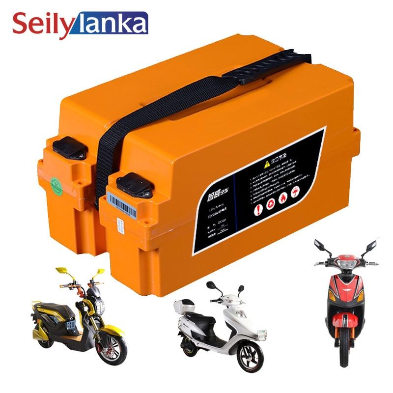 48V 30Ah electric car lithium battery charging treasure modified battery car battery replaceable lead acid battery 20Ah 15Ah