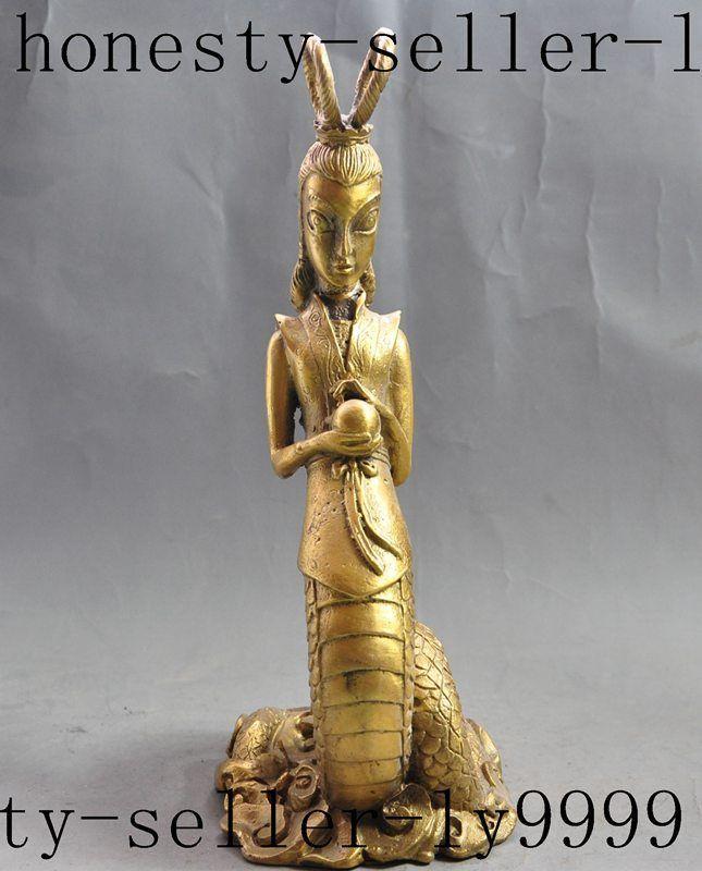 Weihnachten chinesischen mythos messing böse Schlange dämon geist ...