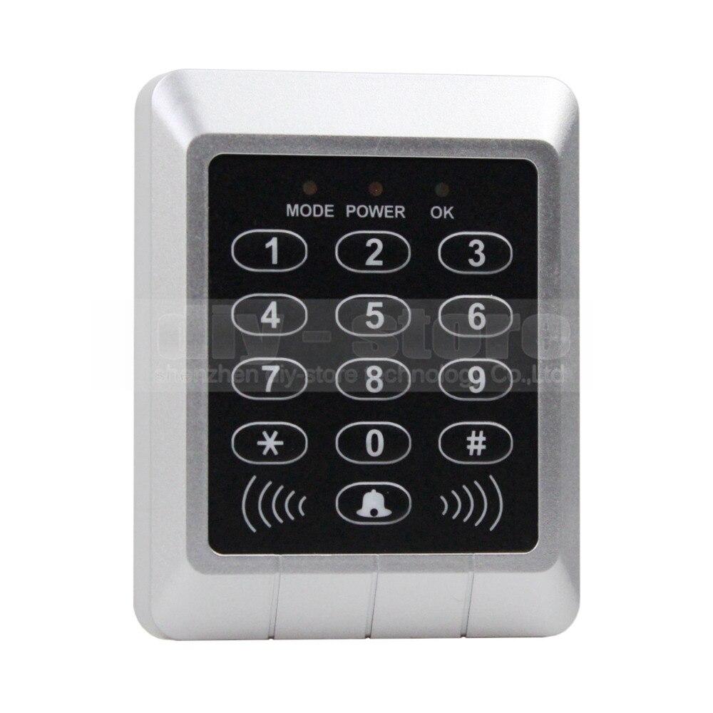 DIYSECUR 125KHz RFID ID Card Reader Access Controller Keypad Security Kit + Free10 ID Key Fobs KS157 usb pos numeric keypad card reader white