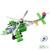 Diy Apache armado Helicoper modelos de ação militar Metal 3D Kit construção bloco de construção de brinquedos educativos Kits ( 270 PCS )