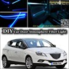 For Chrysler Delta Lancia Delta Interior Ambient Light Tuning Atmosphere Fiber Optic Band Lights Door Panel