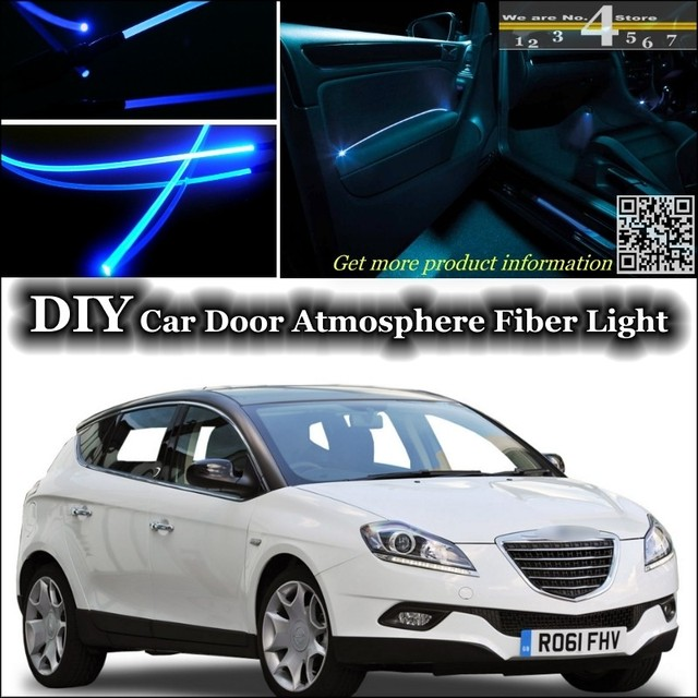 For Chrysler Delta / Lancia Delta interior Ambient Light Tuning Atmosphere Fiber Optic Band Lights Door & For Chrysler Delta / Lancia Delta interior Ambient Light Tuning ...