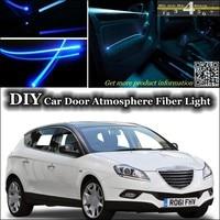 For Chrysler Delta Lancia Delta Interior Ambient Light Tuning Atmosphere Fiber Optic Band Lights Door Panel