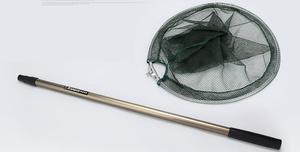 Image 3 - Finefish 200 ซม.ตกปลาสุทธิพับ Telescoping อลูมิเนียมเสามือขนาดใหญ่พับ Landing สุทธิ